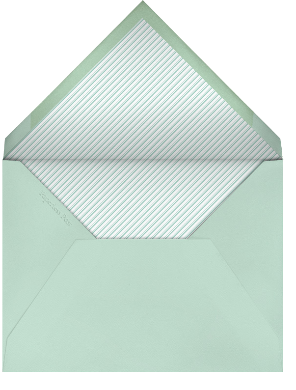 Dashed Dots - Green - Paperless Post - General entertaining - envelope back