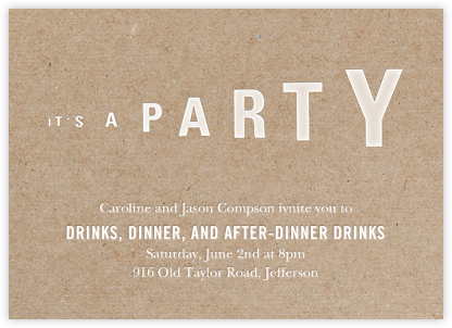 Megaphonic - Paperless Post - Online Party Invitations