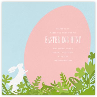 The Great Egg Roll - Paperless Post - Easter Invitations