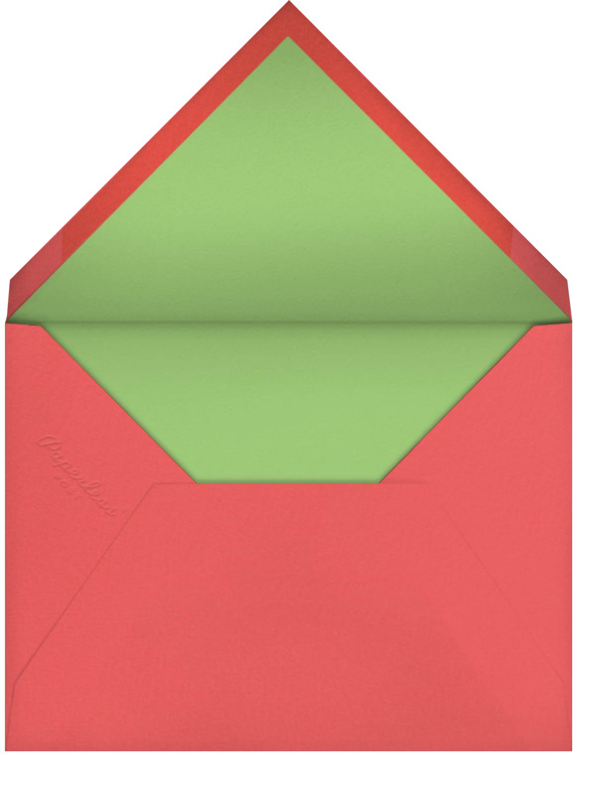 Long Stem Thank You (Blanca Gómez) - Red Cap Cards - Thank you - envelope back