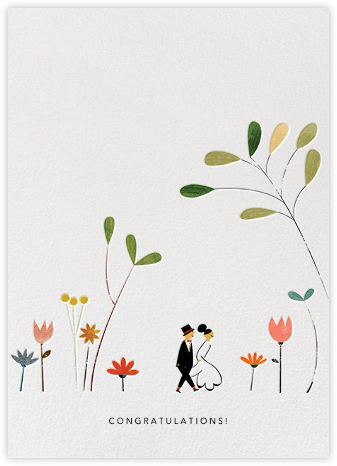 Perfect Wedding (Blanca Gómez) - Red Cap Cards - Wedding Congratulations Cards
