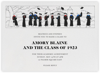 Commencement - Paperless Post -