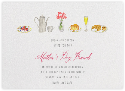 Brunch - Paperless Post - Mother's Day invitations