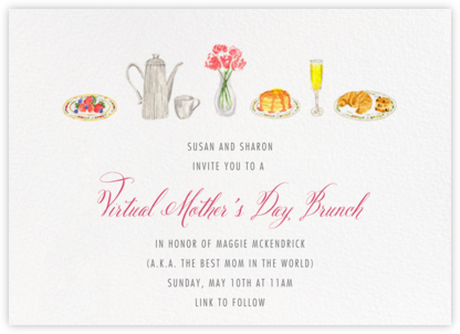 Brunch - Paperless Post - Online Mother's Day invitations