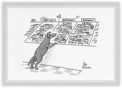 Dog Birthday - The New Yorker - Birthday cards