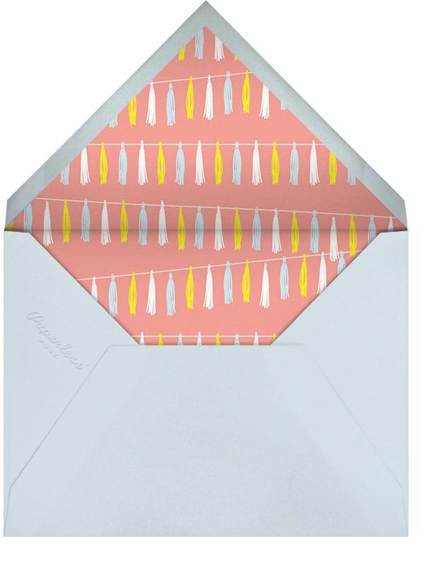 Tasseled II (Photo) - Multi - Paperless Post - Kids' birthday - envelope back