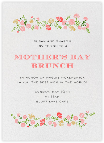 Marianne II - Paperless Post - Online Mother's Day invitations