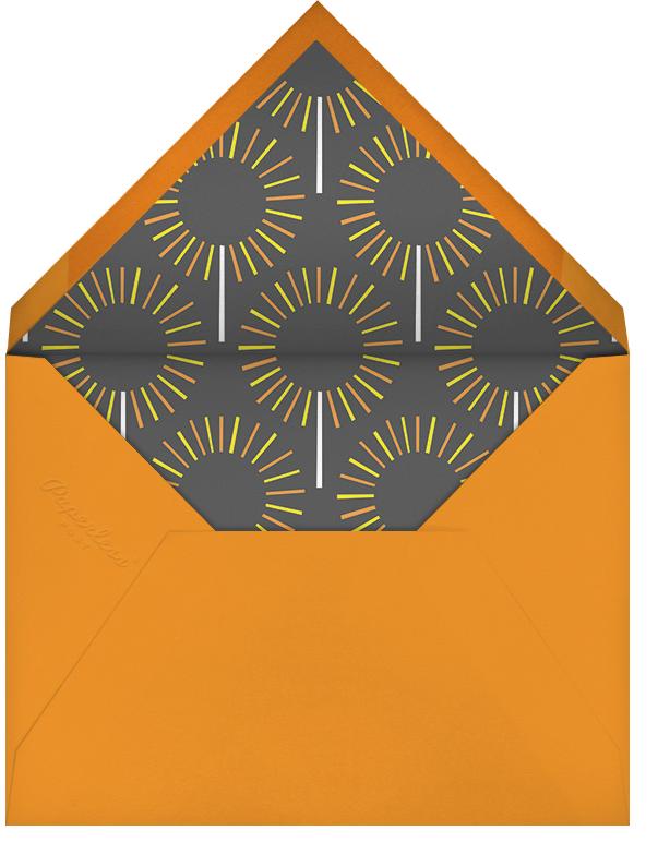 Year of the Sparkler - Orange - Paperless Post - Kids' birthday - envelope back
