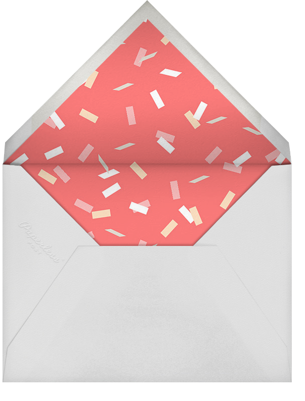 Parade Day - Coral - Paperless Post - Kids' birthday - envelope back