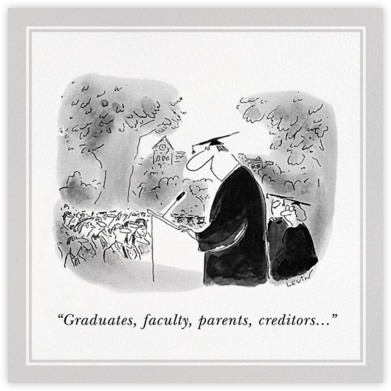 Commencement Speaker - The New Yorker - The New Yorker cards and invitations