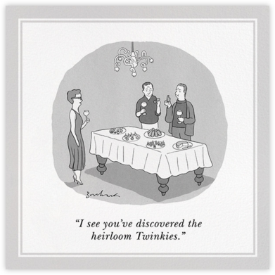 Twinkies - The New Yorker - Dinner party invitations