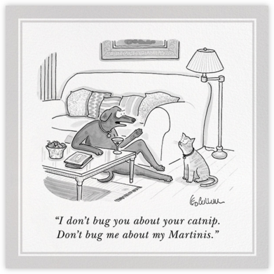 Don't Bug Me - The New Yorker - The New Yorker