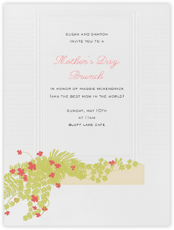 Flower Box  - Paperless Post - Online Mother's Day invitations