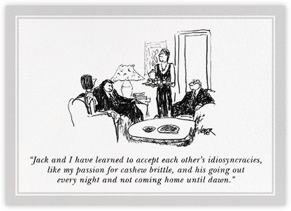 Idiosyncrasies - The New Yorker - Anniversary cards