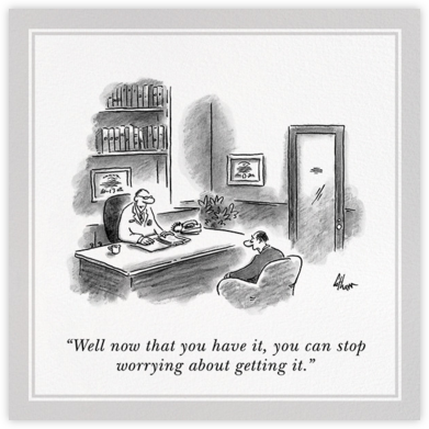 You Have It - The New Yorker - Get well cards