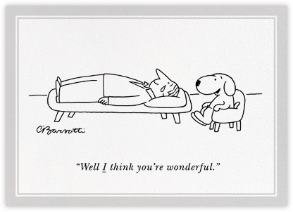 Therapist - The New Yorker - Congratulations cards