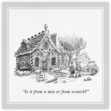 House for Sale - The New Yorker - Housewarming party invitations