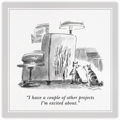 Cat Scratch - The New Yorker - The New Yorker cards and invitations