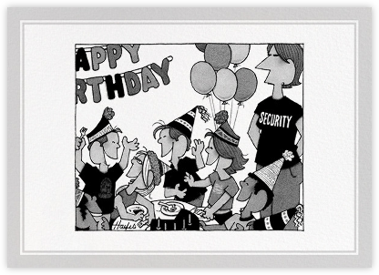Birthday Security - The New Yorker - The New Yorker cards and invitations
