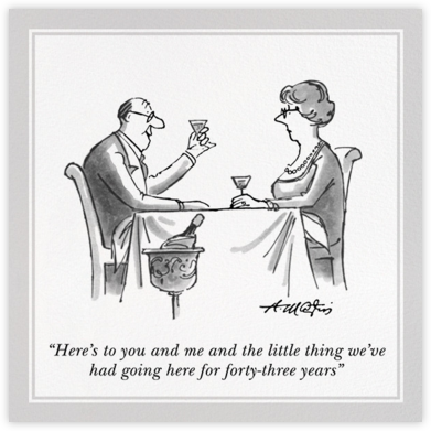 Anniversary Toast - The New Yorker - Anniversary cards