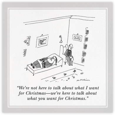 What I Want for Christmas - The New Yorker - The New Yorker cards and invitations