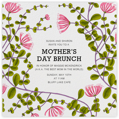 Kuusama - Marimekko - Online Mother's Day invitations