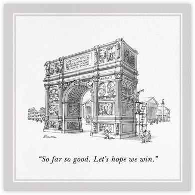 Let's Hope We Win - The New Yorker - Congratulations cards