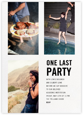 House Party - Paperless Post - Online Party Invitations