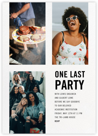 House Party - Paperless Post -
