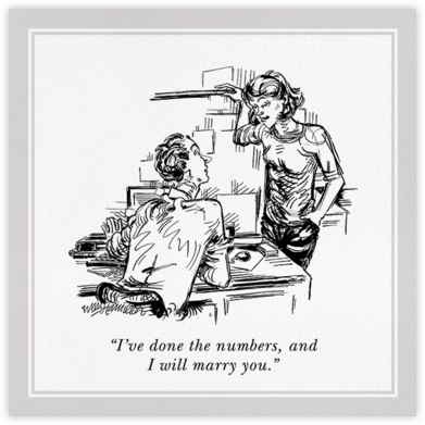 I Will Marry You - The New Yorker - The New Yorker cards and invitations