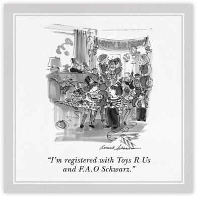 Birthday Registry - The New Yorker - The New Yorker