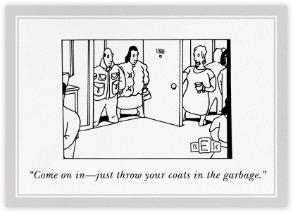 Coats - The New Yorker - The New Yorker cards and invitations