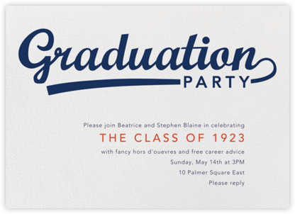 Pennant Party - Paperless Post - Invitations