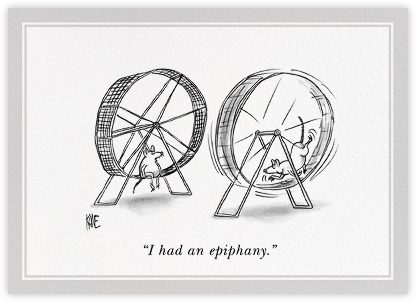 Epiphany - The New Yorker - Just because cards