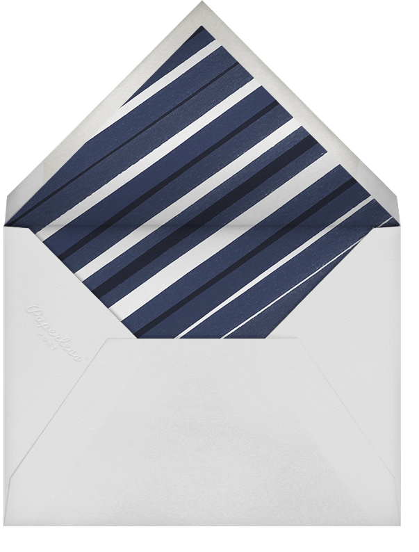 Foiled Frame (Photo) - Silver - Paperless Post - Wedding - envelope back