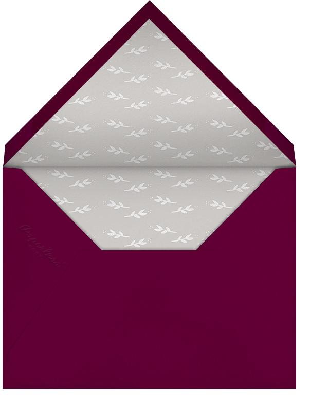 Triple Interior Border (Horizontal Photo) - Silver - Paperless Post - Photo  - envelope back