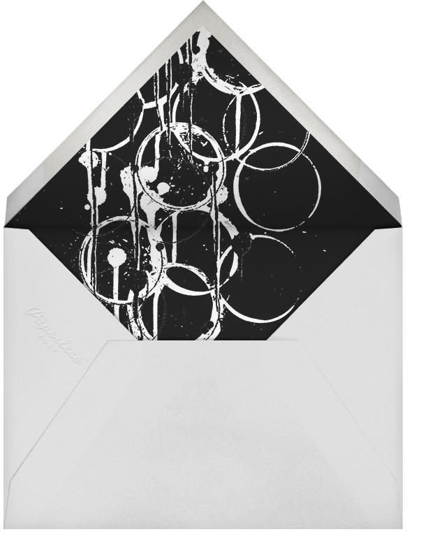 Bottle Shock - Silver - Kelly Wearstler - Engagement party - envelope back