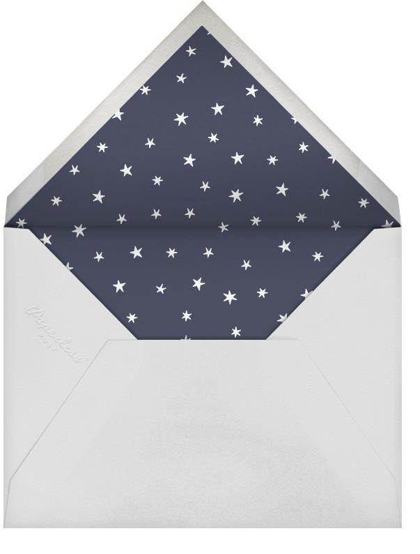 Chrysler Skyline - Silver - Paperless Post - New Year's Eve - envelope back