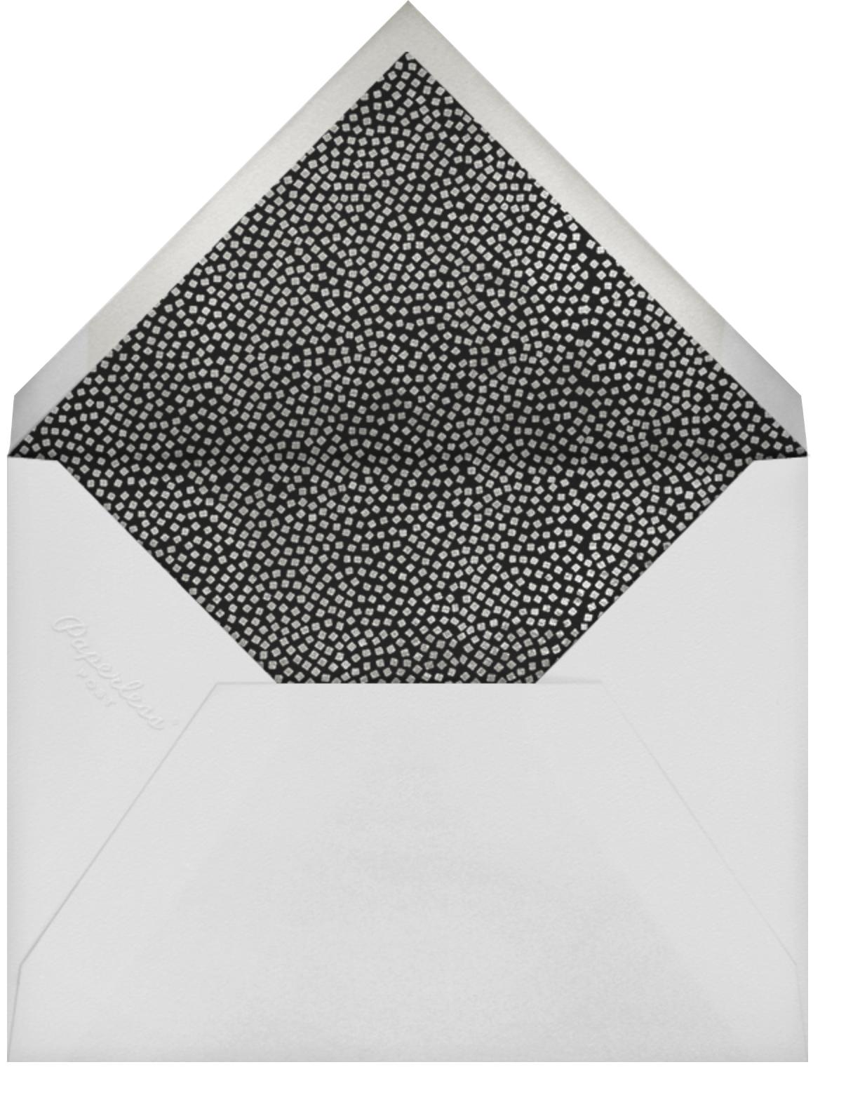 Konfetti (Photo) - Silver - Kelly Wearstler - Adult birthday - envelope back