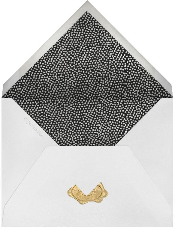 Konfetti (Photo) - Silver - Kelly Wearstler - Save the date - envelope back