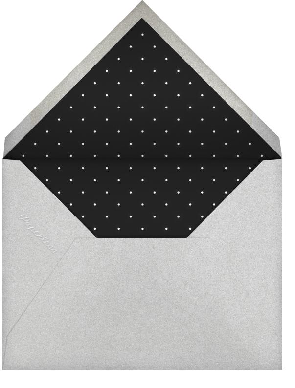 Plume - Black/Silver - Paperless Post - null - envelope back