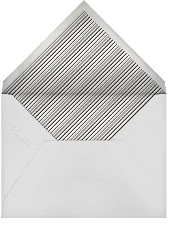 Forsythia - Silver - Paperless Post - Adult birthday - envelope back