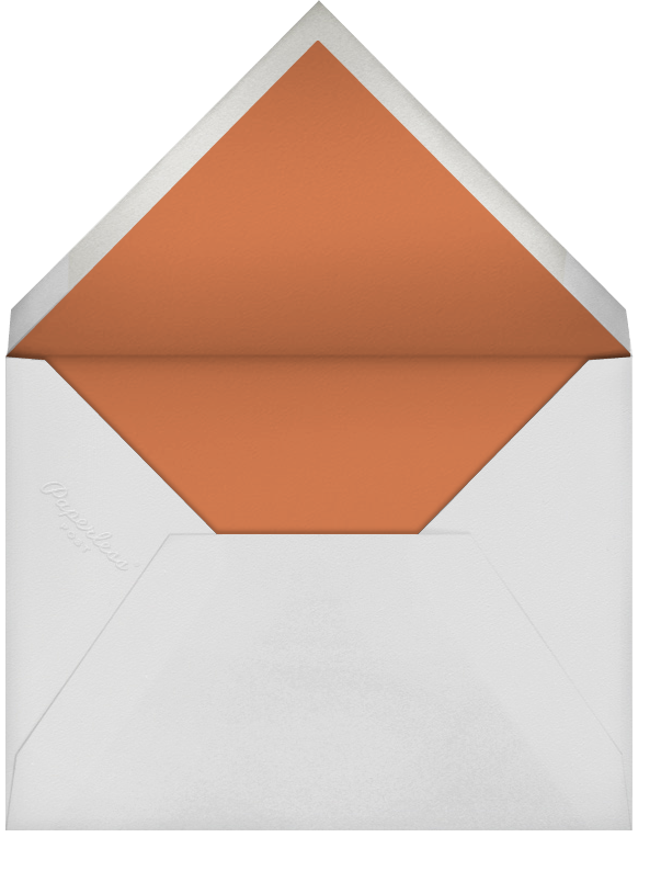 Fleurs d'Automne (Photo Save the Date) - Silver - Paperless Post - null - envelope back
