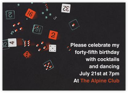 Hard Eight - Paperless Post - Adult birthday invitations
