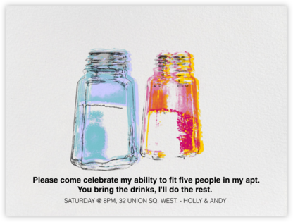 Salt and Pepper - Paperless Post - Invitations