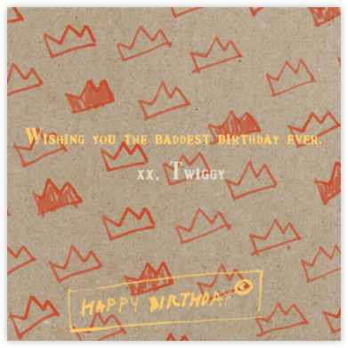Paper Crowns - Paperless Post - Birthday Cards