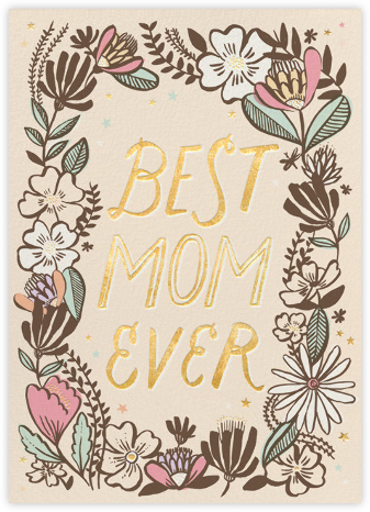 Best Mom Ever - Hello!Lucky - Hello!Lucky - Cards, Invitations, Stationery