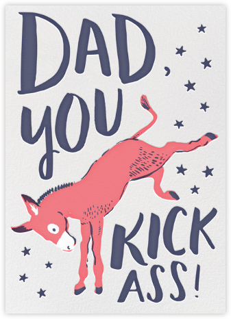 Kick Ass Dad - Hello!Lucky - Father's Day Cards