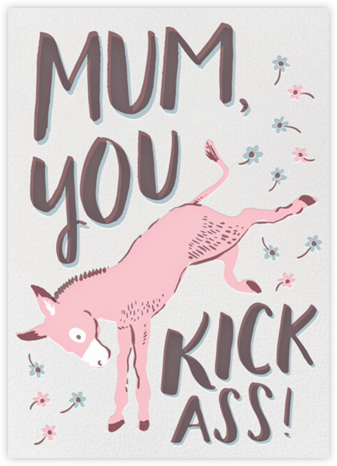 Kick Ass Mom - Hello!Lucky - Mother's Day Cards