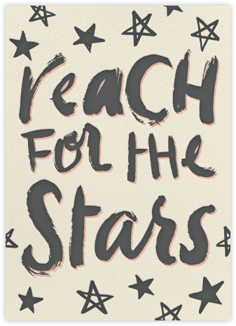 Reach for the Stars (Greeting) - Hello!Lucky - Hello!Lucky Cards